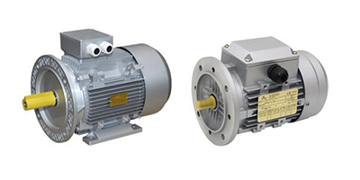 Three-phase electric motors IE1